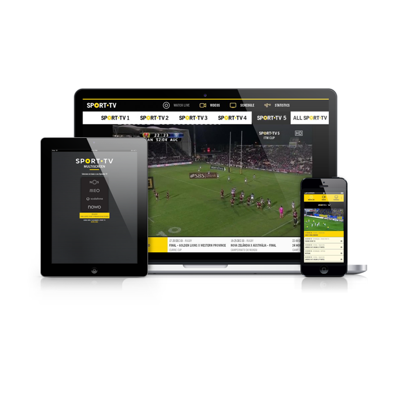 Multiscreen sporttv